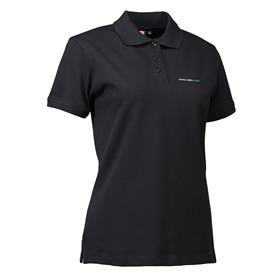 Stretch Polo wmn, black