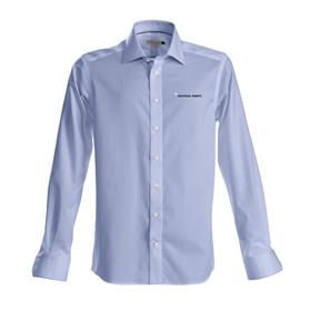 Shirt, men, slim fit, sky blue